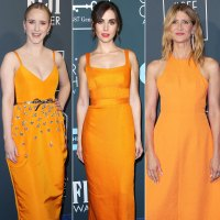 Tangerine Trend at the Critics' Choice Awards 2020