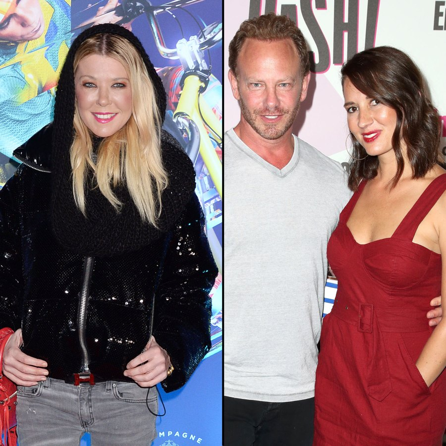 Tara Reid Gives Update on Ian Ziering and Erin Ludwig's Divorce