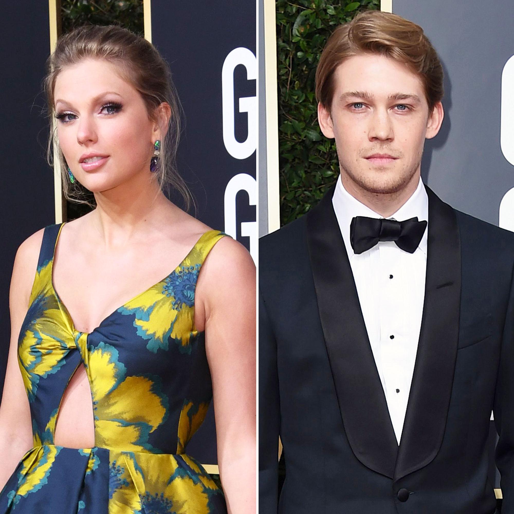 Taylor Swift Attends Golden Globes With Boyfriend Joe Alwyn