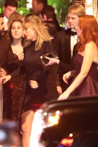 Taylor Swift and Joe Alwyn Celebrate at Golden Globes Afterparty