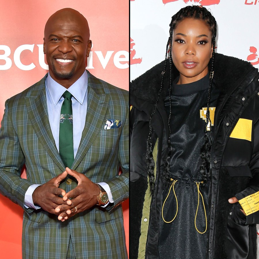 Terry Crews is interviewed by Us Weekly Gabrielle Union