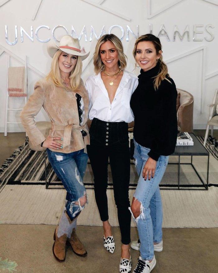 The Hills Costars Reunited Audrina Patridge Kristin Cavallari Heidi Montag Instagram