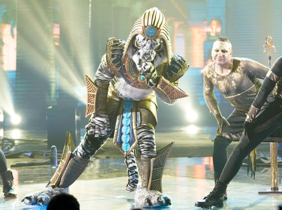The Masked Singer Premiere White Tiger