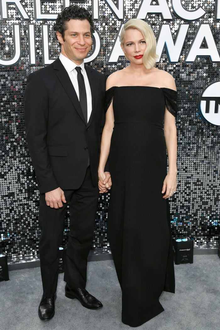 Thomas Kail and Michelle Williams SAG Awards 2020