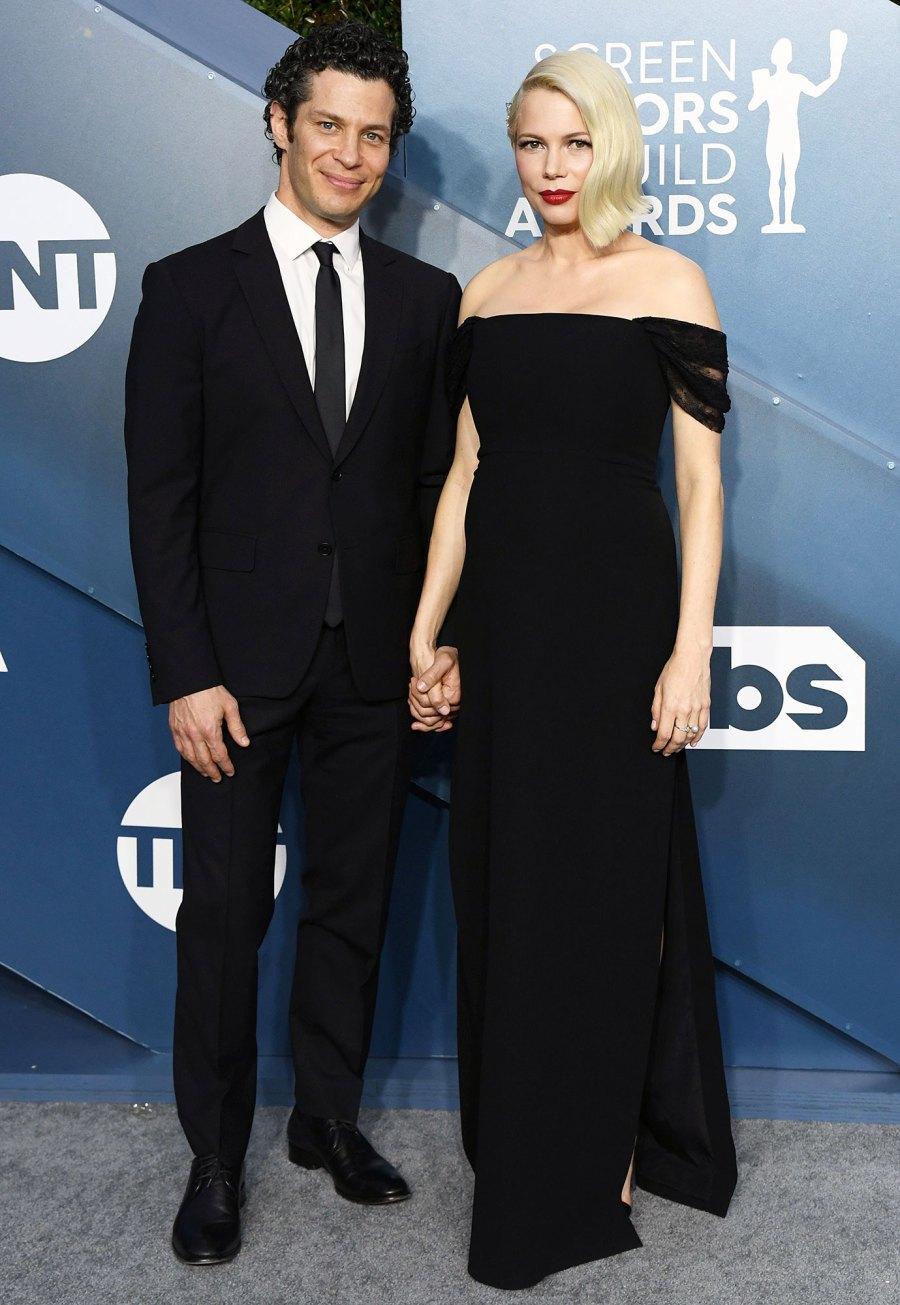 Michelle Williams and Baby Bump at SAG Awards