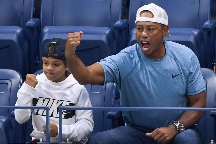 Tiger Woods, Charlie Woods US Open Tennis Championships