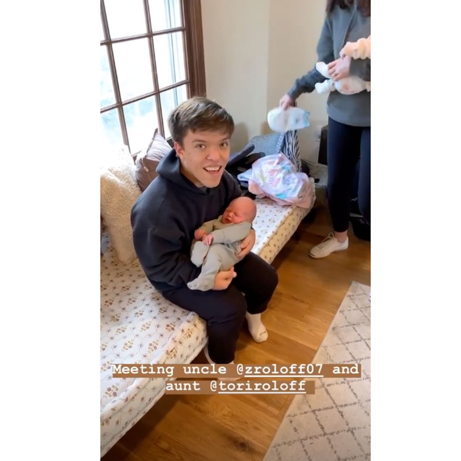 Tori Roloff's 1-Month-Old Daughter Meets Audrey Roloff's Newborn Son: 'Twinning'