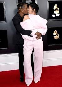 Travis-Scott,-Kylie-Jenner-PDA-Grammys