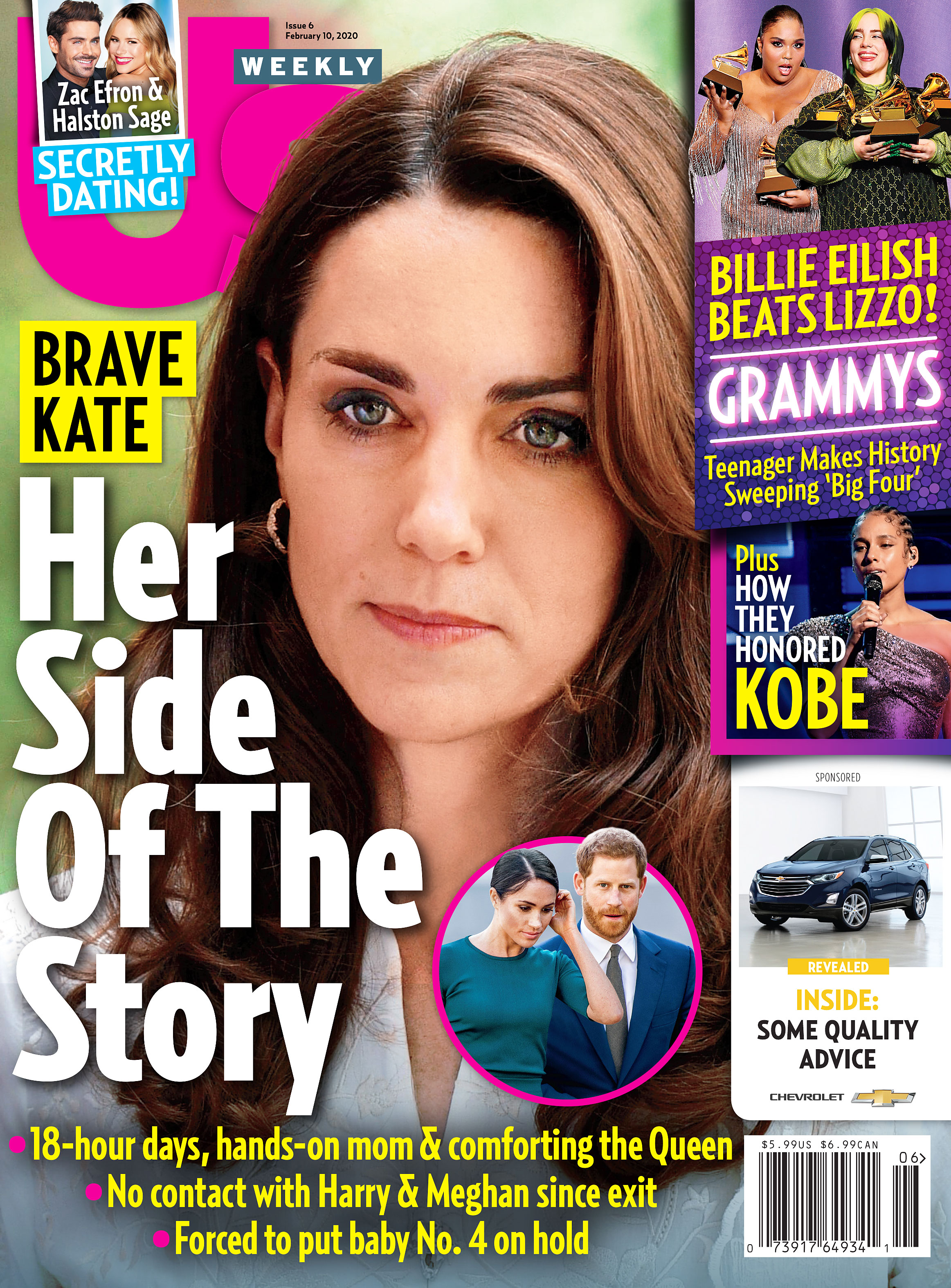 Us Weekly Cover Issue 0620 Duchess Kate Her Side of the Story