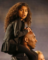 Vanessa Bryant Speaks Out Gianna Bryant and Kobe Bryant Sitting On Shoulders Fatal Helicopter Crash