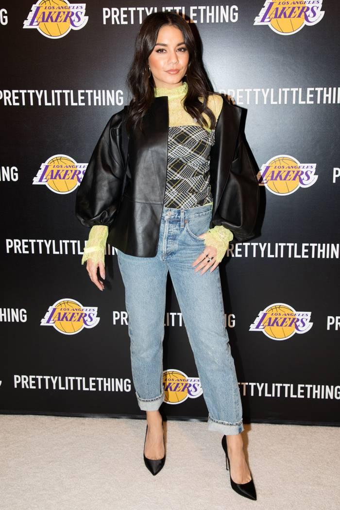 Vanessa Hudgens Cavs V Lakers