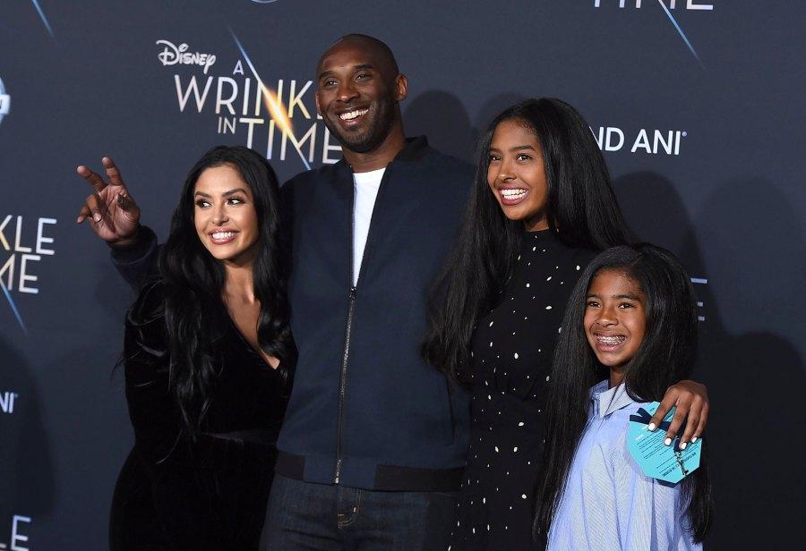 Vanessa Laine, Kobe Bryant, Natalia Bryant, Gianna Bryant Wrinkle in Time Kobe Bryant Family Album