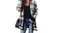 Zesica Women's Long Sleeve Open Front Cardigan Sweater