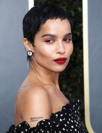 Zoe Kravitz Best Hair and Makeup Golden Globes 2020