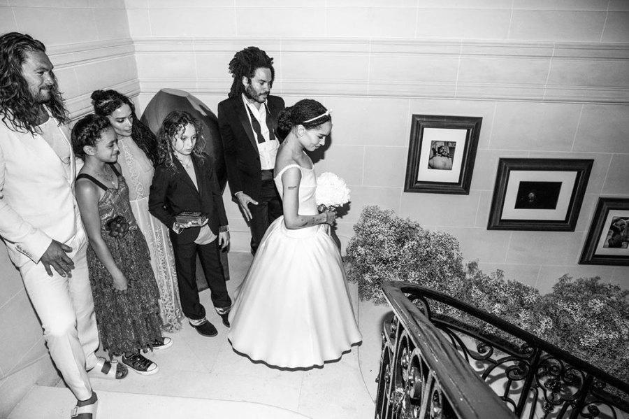 Zoe-Kravitz-Karl-Glusman-wedding
