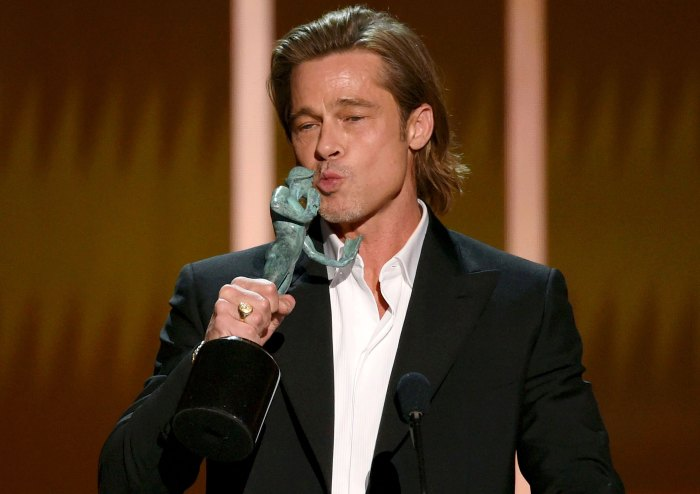 Winners Gallery Brad Pitt SAG 2020