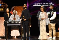 Grammys 2020 Winners Nipsey Hussle Family