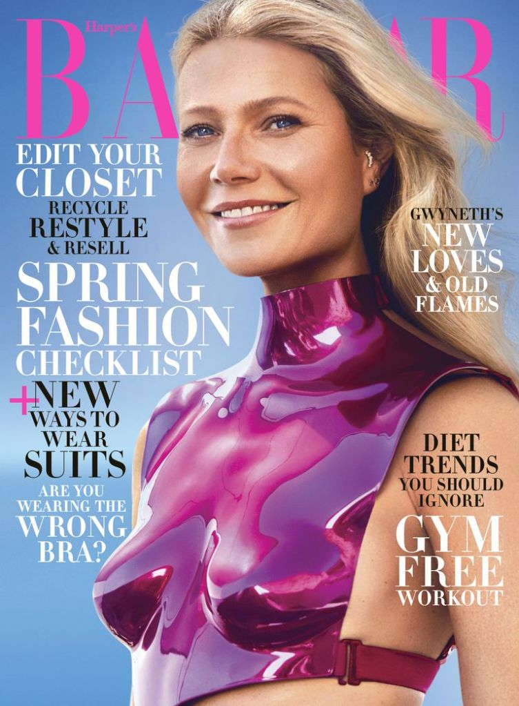 Gwyneth Paltrow Harper's Bazaar February 2020