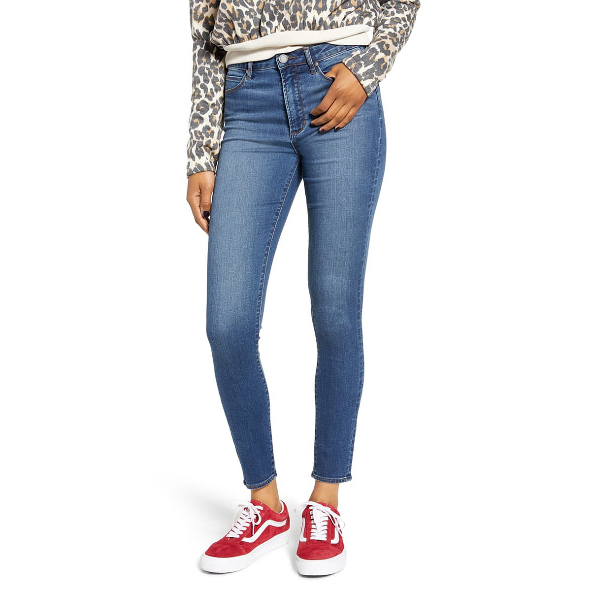 Articles of Society Hillary High Waist Ankle Jeggings