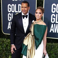 Jennifer Lopez Alex Rodriguez Heat Up the Red Carpet Golden Globes 2020