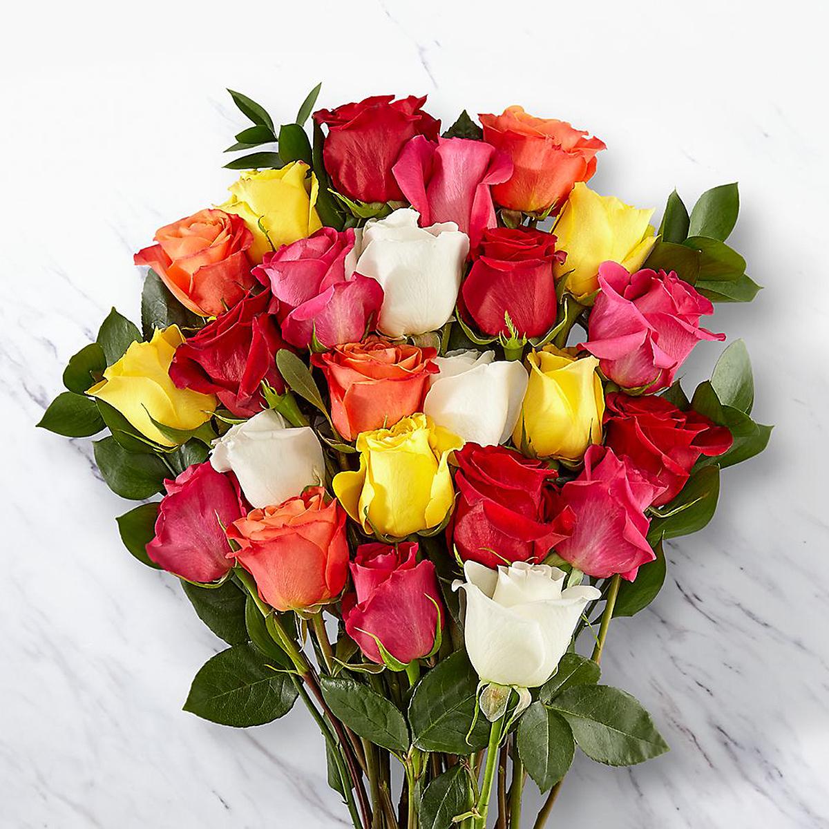 mixed-roses
