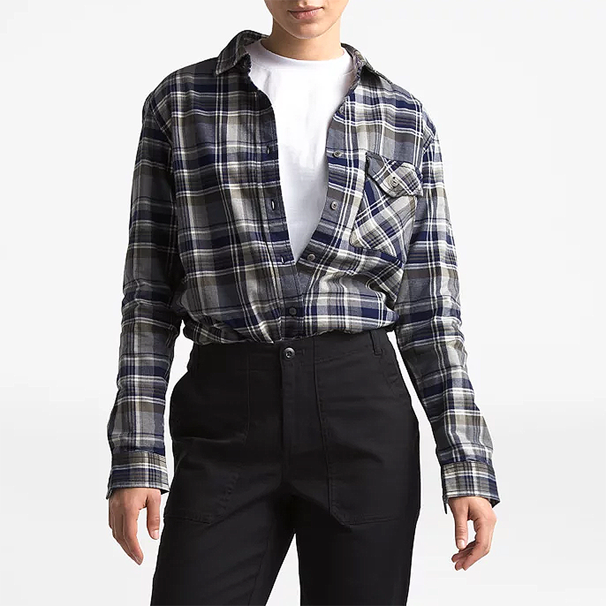 north-face-flannel-shirt
