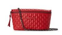 Longchamp Red Amazone Matelassé Belt Bag