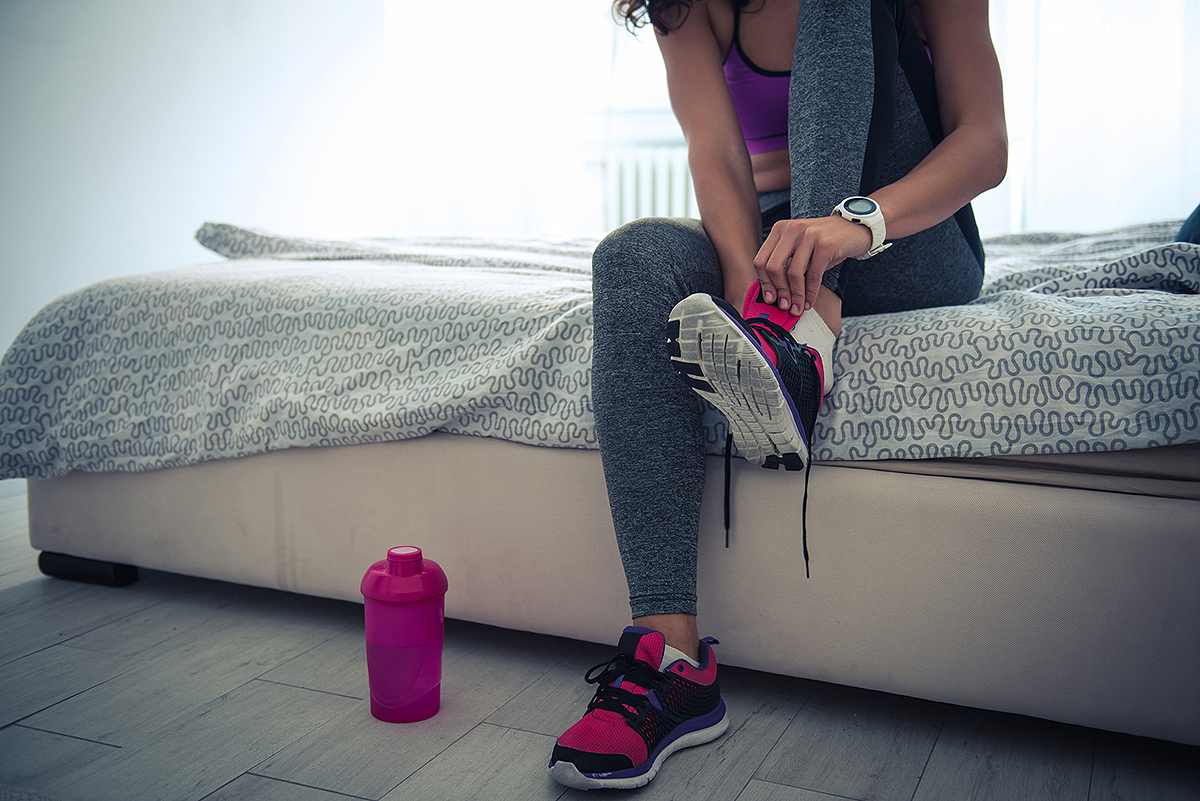 Ready for workout