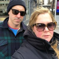 Chris Fischer and Amy Schumer Stars Watching the 2020 Oscars From Home