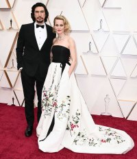 Adam Driver and Joanne Tucker Couples Dazzle at Oscars 2020
