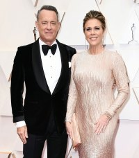 Tom Hanks and Rita Wilson Couples Dazzle at Oscars 2020