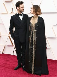 Benjamin Millepied and Natalie Portman Couples Dazzle at Oscars 2020