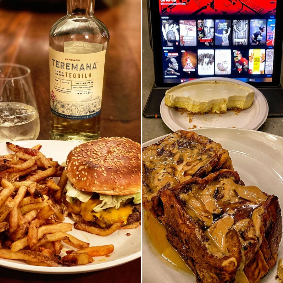 A Cheeseburger, Cheesecake and Brioche French Toast The Rock Cheat Meals
