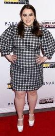 Beanie Feldstein Plaid Dress February 26, 2020
