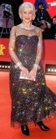 Helen Mirren Sparkling Gown February 27, 2020
