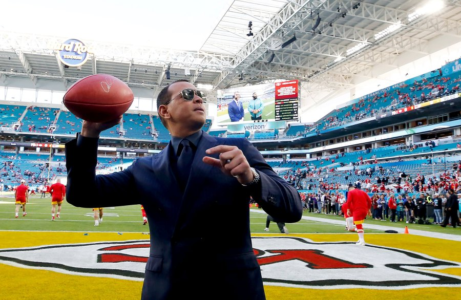 Alex Rodriguez Superbowl 2020