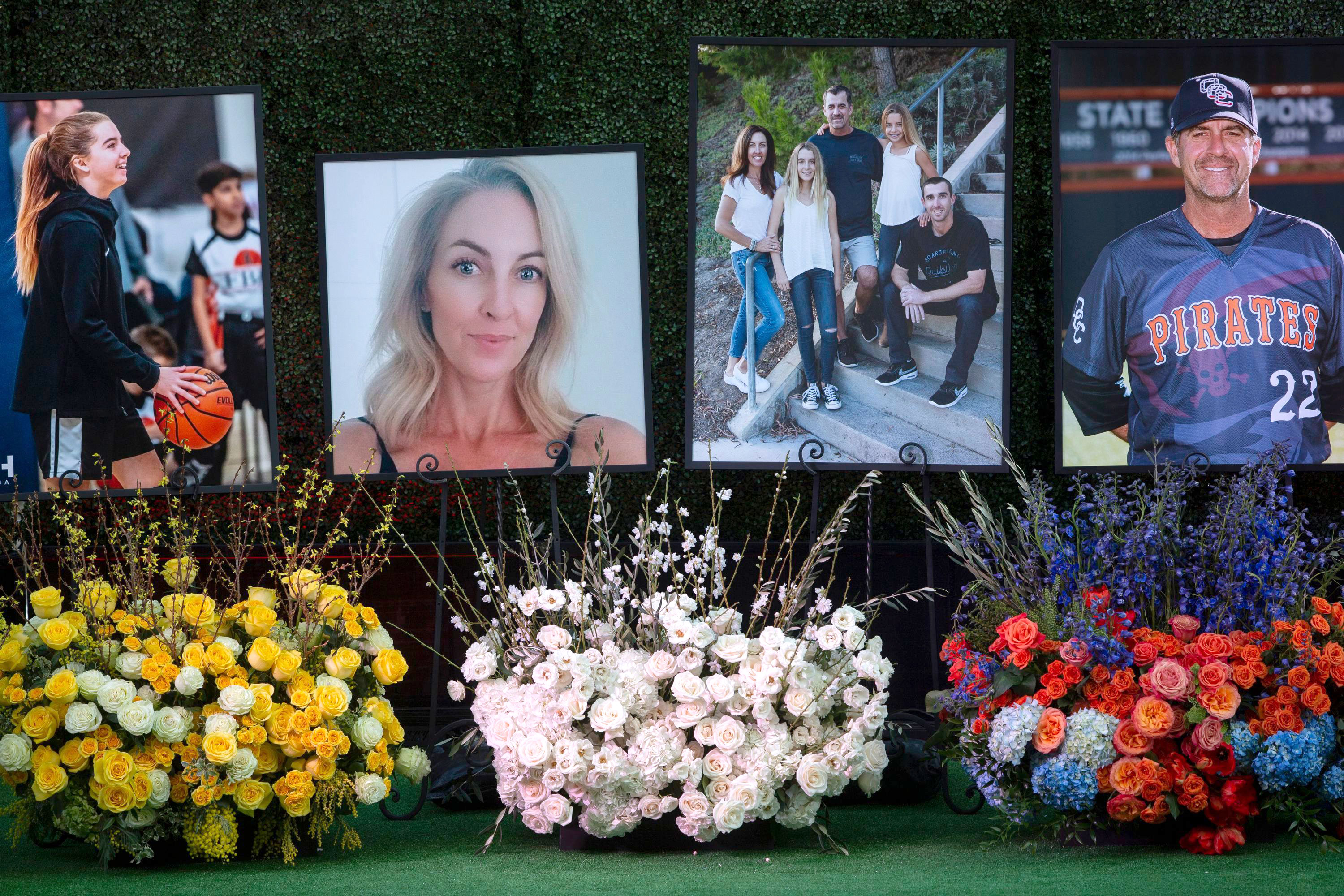 Altobelli Family Remembered at Angel Stadium Memorial Service 2 Weeks After Kobe Bryant Crash