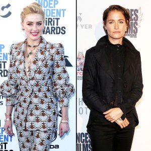 Amber Heard Is Happier Than Ever With Bianca Butti