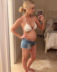 Bachelor in Paradise Jenna Cooper 1st Pregnancy Pics