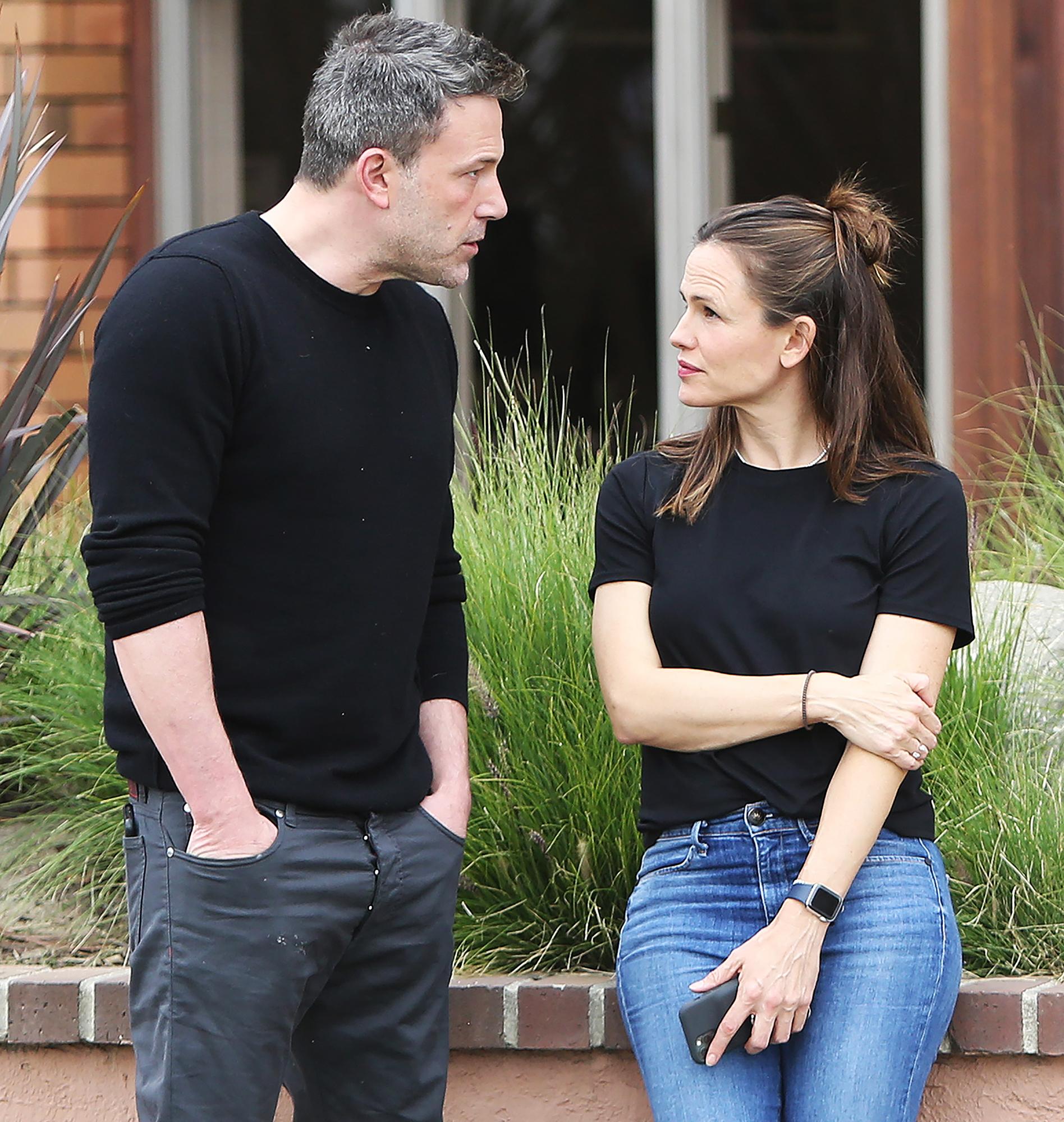 Ben Affleck Seen With Jennifer Garner After Divorce Revelation