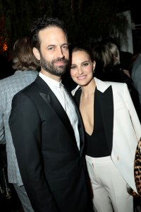 Benjamin Millepied and Natalie Portman attend the CAA Pre-Oscar Party