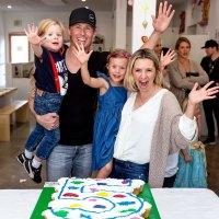 Beverley Mitchell Celebrates Son Hutton's 5th Birthday