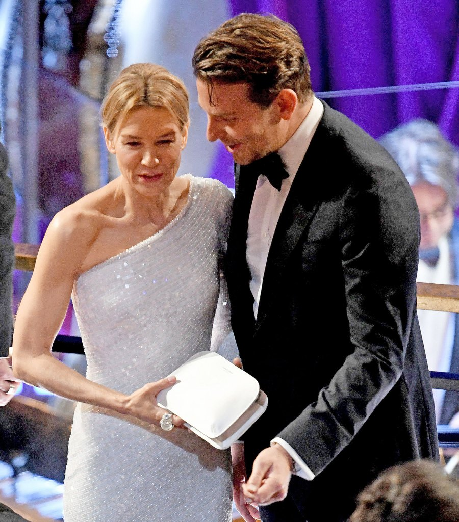 Bradley Cooper Interacts With Ex-Girlfriend Renee Zellweger at Oscars 2020