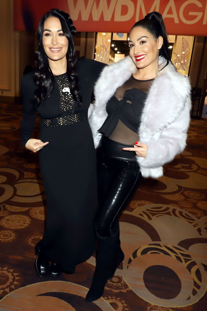 Brie Bella and Nikki Bella Boss Babes and CEOs Did Not Plan on Being Pregnant Together Magic Convention