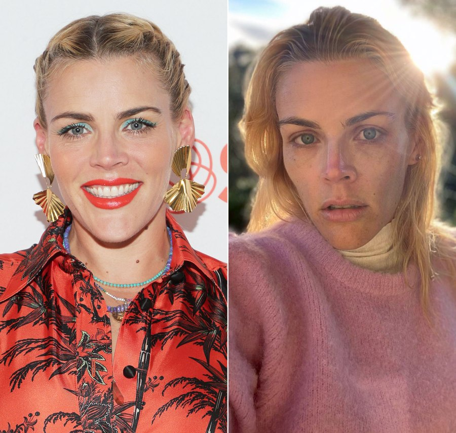 Busy Philipps Makeup-Free Instagram