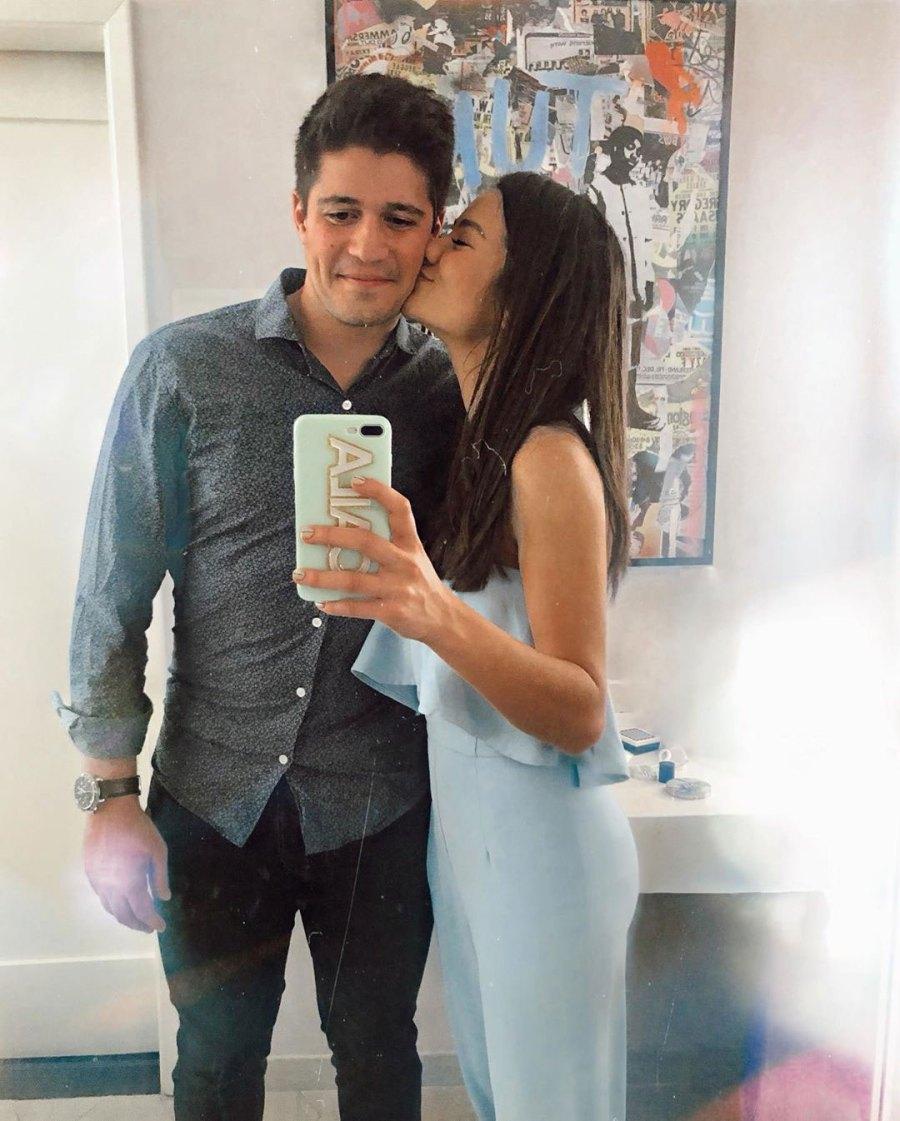 Caila Quinn Bachelor Nation Celebrated Valentine's Day