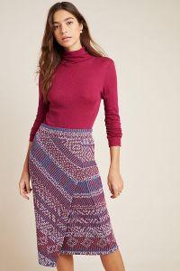 Carolina Knit Pencil Skirt