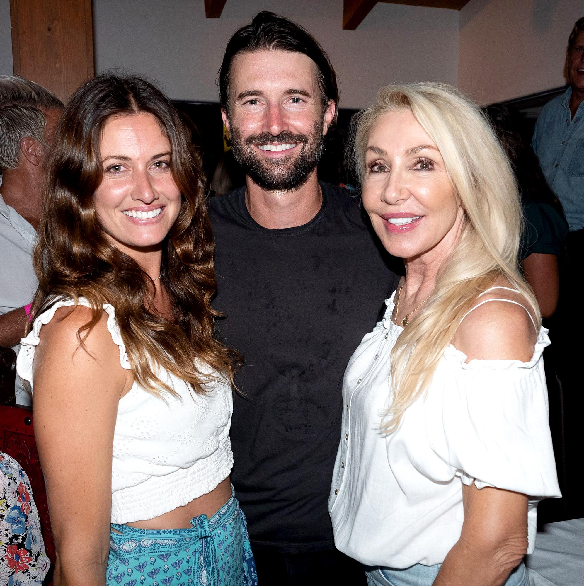 Cayley-Stoker,-Brandon-Jenner-and-Linda-Thompson