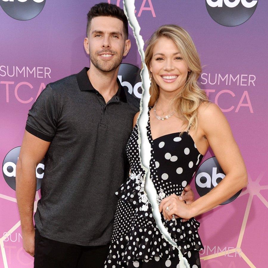 Celebrity Splits of 2020 Krystal Nielson and Chris Randone Split