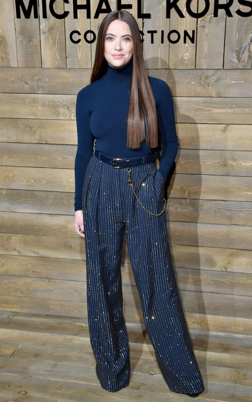 Celebs at New York Fashion Week - Ashley Benson